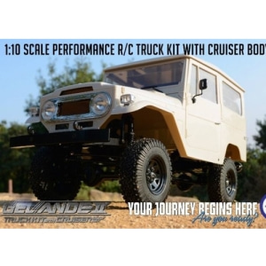 [게랜더-Cruiser Body 버전] RC4WD Gelande II Truck Kit w/Cruiser Body Set