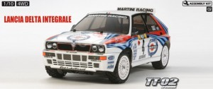 [TA58570] 1/10 4WD Shaft Drive Off Road Lancia Delta Integrale - TT02 (랠리버젼,조립식키트)