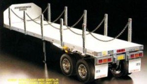 [TA56306] 1/14 Flatbed Trailer For Tamiya RC Tractor Truck