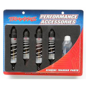 AX5862 Big Bore shocks, Slash (hard-anodized & Teflon-coated T6 aluminum)
