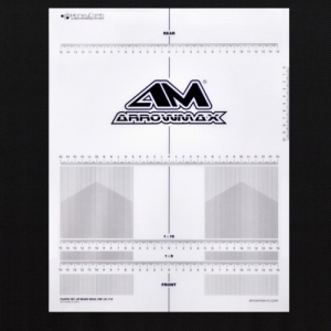AM-170073 Plastic Set-up Board Decal for 1/8, 1/10 (셋업 보드 데칼)