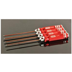 EDS-110991 ALLEN WRENCH SET - METRIC - 1.5,2.0,2.5,3.0 X 120MM - 4 PCS.