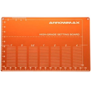 AM-220022-O High Grade Setting Board For 1/32 Mini 4WD (Orange)