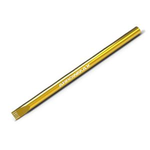 ARROW MAX FLAT HEAD SCREWDRIVER 5.8 X 100MM TIP (Spring Steel & Titanium Nitride Coated)