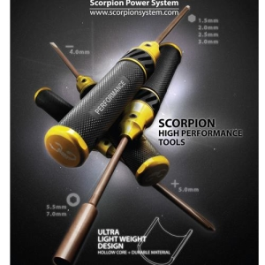 Scorpion High Performance Tools - 3.0mm Hex Driver