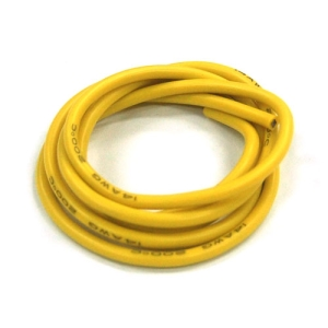UP-WS14Y Silicon Wire 14AWG (YELLOW : 1mtr) : 실리콘와이어 14게이지