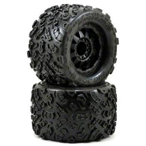 "AP1198-13 Big Joe 2.0 3.8"" Tire w/F-11 17mm 1/2"" Offset MT Wheel (Black) (2)"
