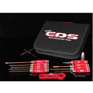 EDS-290907 EDS TOOLS FOR NITRO CARS WITH TOOL BAG - 12 PCS.