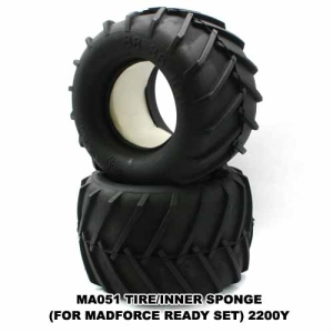 KYMA051 TIRE/INNER SPONGE(FOR MADFORCE)