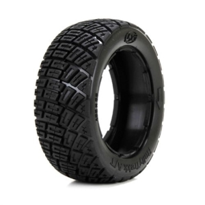LOS45002 Rally Trekk Tire Set, Firm(1ea L/R)(1/5 대형스케일 MINI WRC RTR 미니쿠페 타이어) 2pcs
