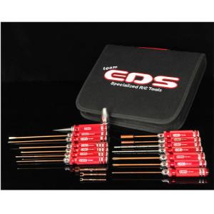 EDS-290909 EDS TOOLS FOR ALL CARS WITH TOOL BAG - 17 PCS.