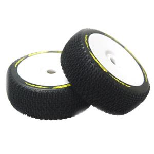 L-T3100VW B-Maglev 1/8 Buggy Tire (Super Soft Compound/White Rim/본딩완료/반대분)