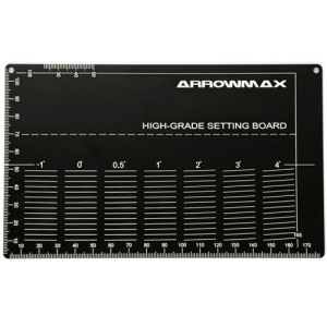 AM-220022-B High Grade Setting Board For 1/32 Mini 4WD (Black)