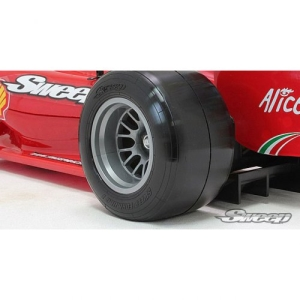 SW-F1RMP Sweep Formula1 Rear Tire set Medium EVO (인서트 포함 본딩완료)