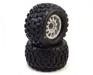AP10127-25 Badlands MX38 3.8인치 (Traxxas Style Bead) All Terrain Tires Mounted