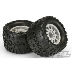 "AP1184-25 Trencher X 3.8"" (Traxxas Style Bead) All Terrain Tires Mounted"