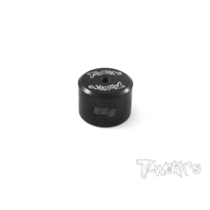 TA-080 Anodized Precision Balancing Brass Weights 25g (#TA-080)