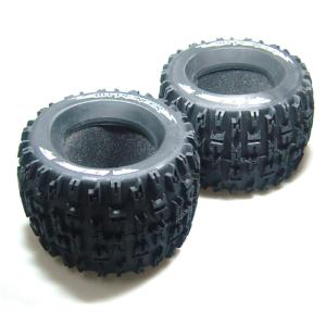 L-T3218I MT-PIONEER 3.8인치 Tires - TRAXXAS Bead SPORT Compound / Foam Inserts (2) 반대분, 이너폼 포함