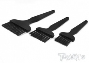 [TA-061] Width Board Cleaning Nylon Bristle Brush 3pcs./set (#TA-061)
