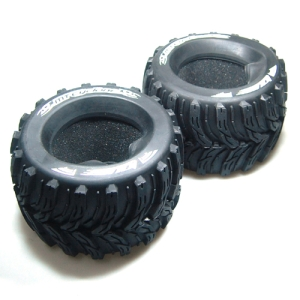 L-T3220I MT-CYCLONE 3.8인치 Tires - TRAXXAS Bead SPORT Compound / Foam Inserts (2) 반대분, 이너폼 포함