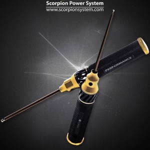 Scorpion High Performance Tools - 2.5mm Round Head Hex Driver