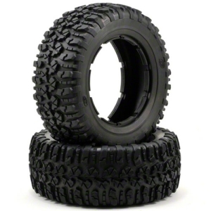 LOSB7240 Losi Nomad Tire Set (Firm) (2) (5IVE-T)