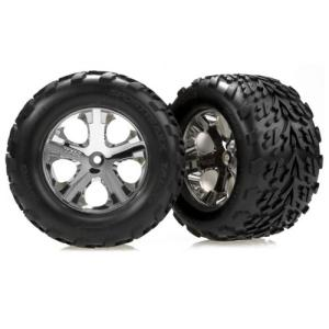 AX3669 Talon 2.8 Front Tires On All-Star Stampede (2)