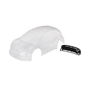 AX7412 Body, Ford Fiesta® ST Rally (clear,