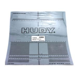 108210 Hudy Plastic Set-Up Board Decal For 1/8, 1/10