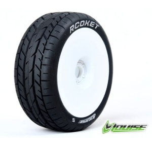 L-T3190SW B-ROCKET 1/8 Buggy On Road Soft Compound / White Rim / 본딩완료 (반대분)