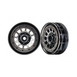 "AX8173 WHEELS, METHOD 105 1.9"" (BLACK CHR"