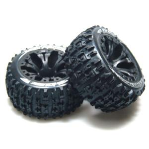 L-T3227SBH ST-PIONEER 2.8인치 TRUCK TIRES TRAXXAS BEAD SOFT COMPOUND/BLACK 1/2 OFFSET RIM/MOUNTED (반대분)