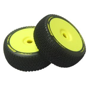 L-T3100VY B-Maglev 1/8 Buggy Tire(Super Soft Compound/ Yellow Rim/본딩완료/반대분)