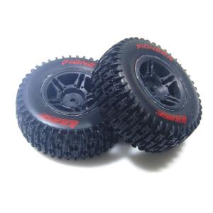 L-T3148SBTR SC-PIONEER 1/10 SC Tire Soft Compound/Max 2.2인치/3.0인치 Black Rim / 본딩완료 (반대분)