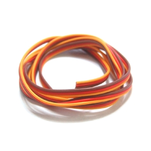 UP-HWS22 Servo Extion Wire 22AWG (1mtr) (Red/Yellow/Black)