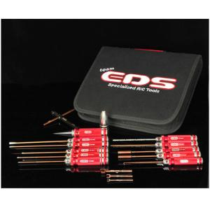 EDS-290908 EDS TOOLS FOR 1/8 BUGGY WITH TOOL BAG - 15 PCS.