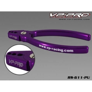 [고급형]VP PRO Alum. Shock Shaft Plier(purple) 쇽 샤프트 집게