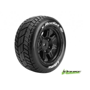 [입고완료]L-T3295B Louise Tires & Wheels X-Rocket X-Maxx (반대분)