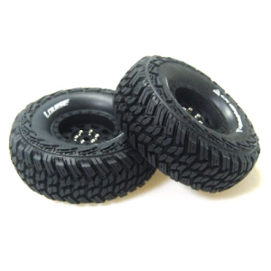 L-T3230VB CR-GRIFFIN 1/10 Scale 1.9인치 Crawler Tires Super Soft Compound / Black Rim / 12mm HEX