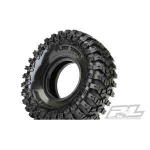 "AP10112 Flat Iron XL 1.9"" G8 Rock Terrain Truck Tires w/Memory Foam for Front or Rear 1.9"" Crawler"