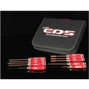 EDS-290911 HELICOPTER COMBO TOOL SET WITH TOOL BAG - 10 PCS