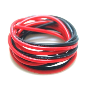UP-WS16RB Silicone Wire 16AWG (RED : 1mtr, Black : 1mtr) : 실리콘와이어 16게이지