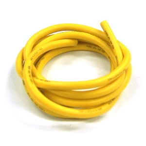UP-WS12Y Silicon Wire 12AWG (YELLOW : 1mtr) : 실리콘와이어 12게이지