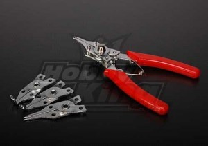 [C-Clipplier4] C-Clip Ring Plier 4 in 1 set
