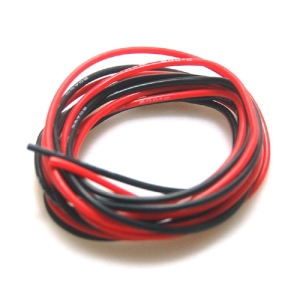 UP-WS20RB Silicone Wire 20AWG (RED : 1mtr, Black : 1mtr) : 실리콘와이어 20게이지