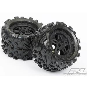 AP1103-13 Big Joe 3.8 (40 Series) All-Terrain Tires Mounted on Tech 5 Black Wheels (반대분)