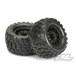 "AP10127-13 Badlands MX38 3.8"" (Traxxas Style Bead) All Terrain Tires Mounted"