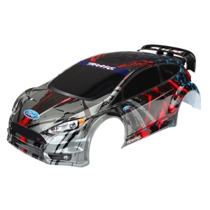 AX7416 Body, Ford Fiesta® ST Rally (painted, decals applied)
