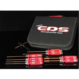 EDS-290905 COMBO TOOL SET WITH TOOL BAG - 9 PCS. (US SIZES)