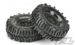 AP10133-10 Interco Bogger 1.9인치 G8 Rock Terrain Tires Mounted